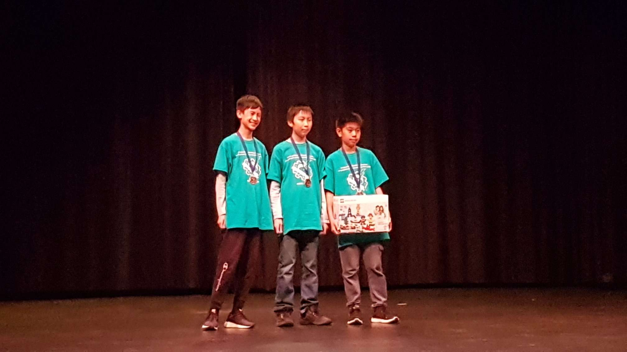 2019 LEGO Robotic Competition - Third Place Prize